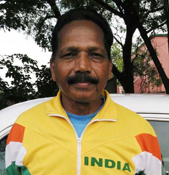 Undated file photo of legendary Odisha athlete Panchanan Gantayat.