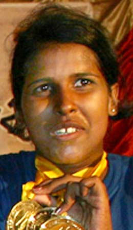 Orissa`s woman international rower Pravasini Dwivedy