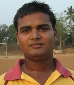 Junior state cricketer <b>Susojit Mohanty