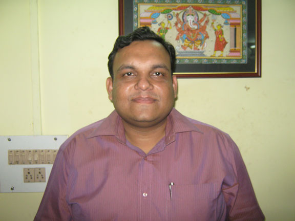 Chess player<b> Vivek Tibarewal</b> at Cuttack on 28th April, 2009.