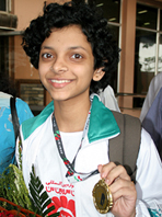 File photo of Orissa chess princess <b>Padmini Rout