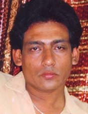 File photo of Orissa cricketer <b>Sourajit Mohapatra.