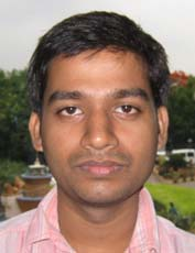 Sports reporter <b>Sujit Ranjan Swain </b>in Bhubaneswar on <b>June 6, 2009.