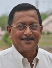 File photo of Orissa Government sports officer <b>Ashok Mohanty