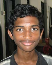 Orissa Chess player <b>Mohammad Ashraf</b> at Puri on <b>June 21, 2009</b>