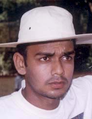 File photo of Orissa cricketer <b>Jagannath Das.