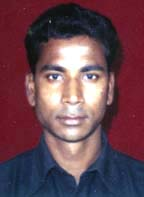File photo of Orissa cricketer<b> Kulamani Parida.