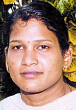 File photo of Orissa woman  weightlifter<b> Prasmita Mangaraj.