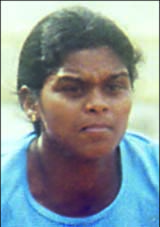 File photo of Orissa woman athlete<b> Sahebani Oram.