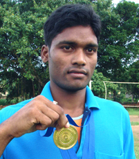 File photo of Orissa athlete <b>Dharmedhar Mahanta.
