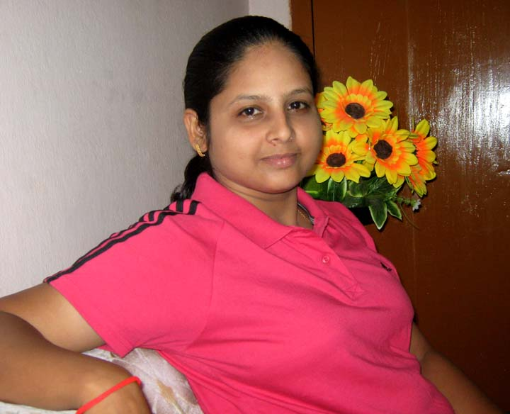 Orissa woman shuttler <b>Gayatri Mishra </b>in Bhubaneswar on <b>Sept 12, 2009.