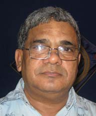Kaling Chess Academy director <b>Sibabrata Dash</b> in Bhubaneswar on <b>Sept 25, 2009.
