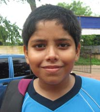 Orissa Table tennis player <b>Anustup Das</b> in Bhubaneswar on <b>October 3, 2009</b>